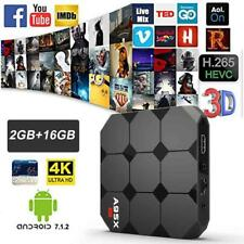 SMART TV BOX A95X R2 ANDROID 7.1 4K 2GB RAM 16 GB ROM QUAD-CORE CON TASTIERA
