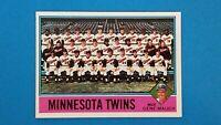 1976 TOPPS BASEBALL #556 MINNESOTA TWINS TEAM CARD NRMT