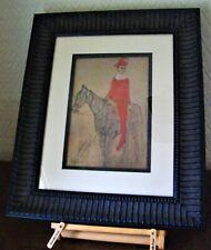 Pablo Picasso 'Clown A Cheval' First Edition 1948 Paris Print Scarce + COA  MINT