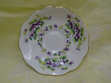 Royal Albert Fine Bone China England Tea Cup Saucer plate only Sweet Violet