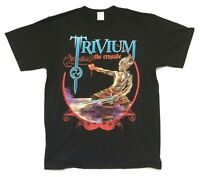 Trivium Hero Crusade 2006 North American Tour Black T Shirt New Official Merch