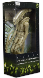 Alien Neca Alien Xenomorph Translucent Prototype Suit 1:4 Scale Action Figure