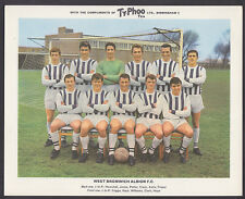 Ty-Phoo - Famous Fooball Clubs 2nd Series 1965 - West Bromwich Albion