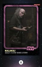 Topps Star Wars Card Trader 2019 4th Anniversary Pink Ralakili