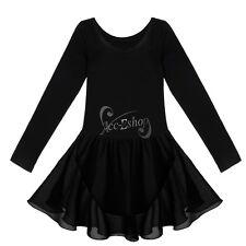Girl Gymnastics Ballet Dress Kid Leotard Tutu Skirt Dance Ballerina Costume 2-14