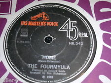 THE FOURMYULA Home / Tell Me No Lie   *NEW ZEALAND HMV ORIGINAL 1969 *