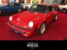 Porsche 911 3,2 Motor G-Modell Turbo Umbau mit original Teilen Breitbau