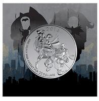 2016 Canada $20 BATMAN vs SUPERMAN DAWN OF JUSTICE 1/4oz Silver coin $20for$20