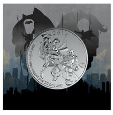 2016 Canada $20 BATMAN vs SUPERMAN DAWN OF JUSTICE 1/4oz Silver coin $20for$20