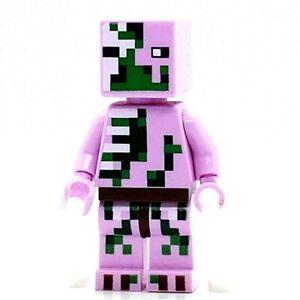 LEGO Minifigure Zombie Pigman min021 Minecraft