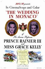 THE WEDDING IN MONACO Movie POSTER 11x17 Grace Kelly