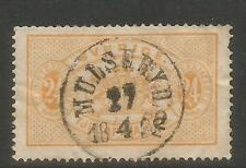Sweden 1881-95 24o yellow Official (O21) used