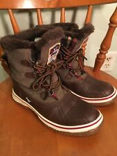 Womens Pajar Iceberg Boots Brown/ Taupe 7/ 7.5 EUC