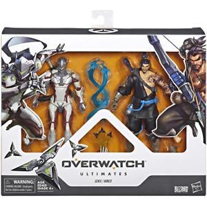 Overwatch Ultimates Genji & Hanzo Duo Action Figures New Kids Toy Hasbro
