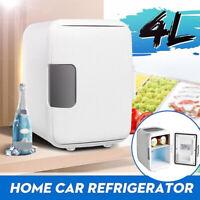 4L Eletric Car Refrigerator Fridge Cool Warmer Dormitory Cooler Mini Freezer WT