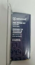 Attwood Mercury Mariner Fuel Fitting Set # 8899LP6 NEW 90° Brass Elbow 8899LPG