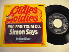 "1910 FRUITGUM CO. Simon Says/Indian Giver  7"""