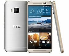"""New"" HTC One M9 4G LTE UNLOCKED WORLDWIDE Android 32GB GSM Phone Gold/Silver"