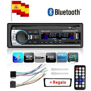 1DIN Autoradio radio de coche MP3 bluetooth manos libres car USB TF AUX In-Dash