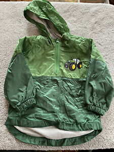 Boy's John Deer Zip Up Jacket Size 2T