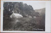 Camp Bonarr, Clearfield County, PA 1910 Realphoto Postcard - Pennsylvania Penn