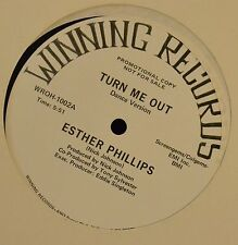 """12"""" Esther Phillips Winning 1002 Turn Me Out"""