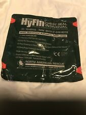 NORTH AMERICAN RESCUE NARP NAR HYFIN CHEST SEAL DRESSING GAUZE Expired