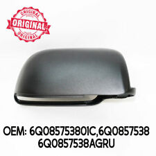 DX LATERALE SPECCHIETTO Cover Coperchio custodia nero per VW VOLKSWAGEN POLO 02