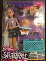 Barbie Babysitters Playset and Skipper Doll and baby