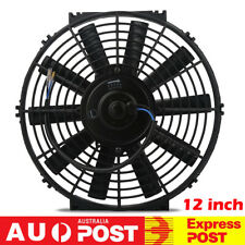 Universal 12V/80W 12'' Slim Fan Push/Pull Electric Radiator Cooling Engine Kit