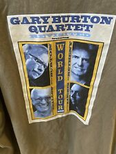 Gary Burton Quartet World Tour 2006 XXL T Shirt! Pat Metheny B7