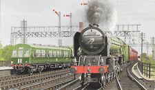 Newcastle LNER Class A1 4-6-2 No. 60147 Ian Allen Postcard Seller's Ref: 19237