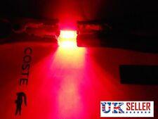 2X 42mm Car 8 LED Interior Festoon Dome Number Plate Bulb Light RED 12V.