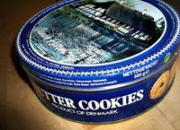 ALTE BLECH KEKSDOSE 90er BUTTER COOKIES //SAMMLER ODER DEKO ODER VORRATSDOSE BOX