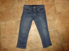 Women's Seven 7 Skinny Stretch Cropped Jeans Size 4   28x20