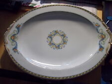 "11"" B & C Limoges Serving Platter ""Horn of Plenty"""