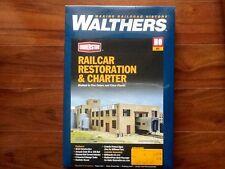 WALTHERS 1/87 HO CORNERSTONE RAILCAR RESTORATION & CHARTER ITEM # 933-4024 F/S