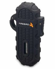Firebird by Colibri Ascent UJF632A1 Single Torch Cigar Lighter Warranty Black
