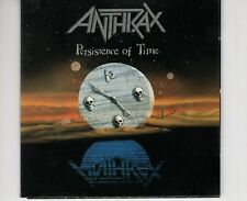 CD ANTHRAXpersistence of timeEX-  1990  (B3874)