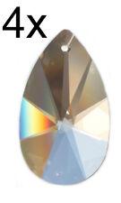 4x Kristall Glas Tropfen Sonne Pendel Feng Shui SPECTRA CRYSTAL von Swarovski