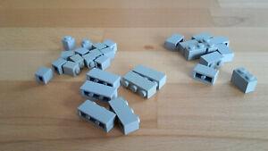 >>>LEGO Konvolut grauer einreihiger Steine<<<