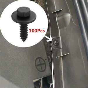 100x Car Body Moulding Fender Panel Screw Washer Kit Fastener Clip For BMW E90
