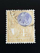 Malta 1926 4 1/2d Lavender & Ochre & Fine used SG164