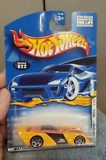 2001 Hot Wheels #22 Yellow Shredster with P5  Wheels Diecast Yellow