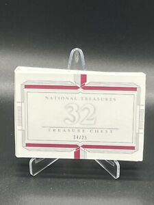 Treasure Chest 2019 National Treasures Baseball 32 Booklet /25 Rookies Tatis