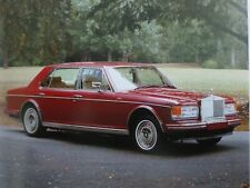 Rolls-Royce Silver Spur II by Mulliner Park Ward 20 page catalog ** VERY RARE **