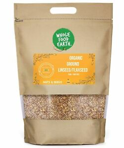Organic Ground Linseed/Flaxseed   Raw   GMO Free