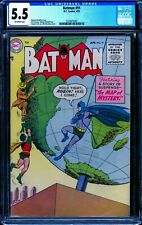 Batman #91 CGC 5.5 -- 1955 -- Map of Mystery. Top 10 on Census. #1570875001