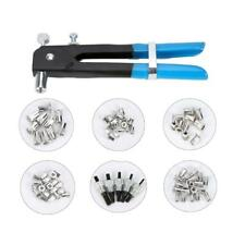 Hand Nut Rivet Gun M3-M8 86Pcs Threaded Nut Rivet Insert Tool Rivnut Nutsert Kit