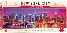 New York City 1000 piece panoramic jigsaw puzzle  990mm x 330mm  (mpc)